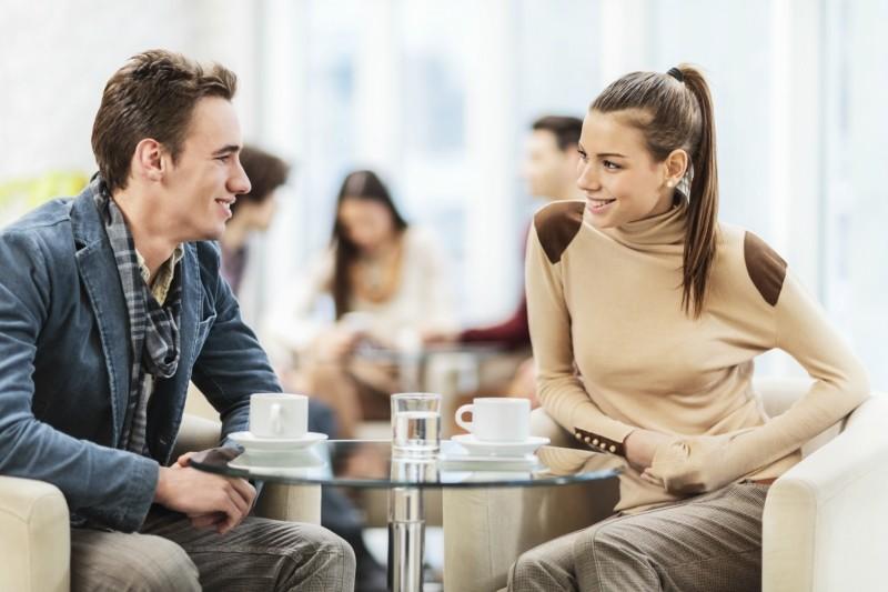 С мужчиной нестандартный способ знакомства