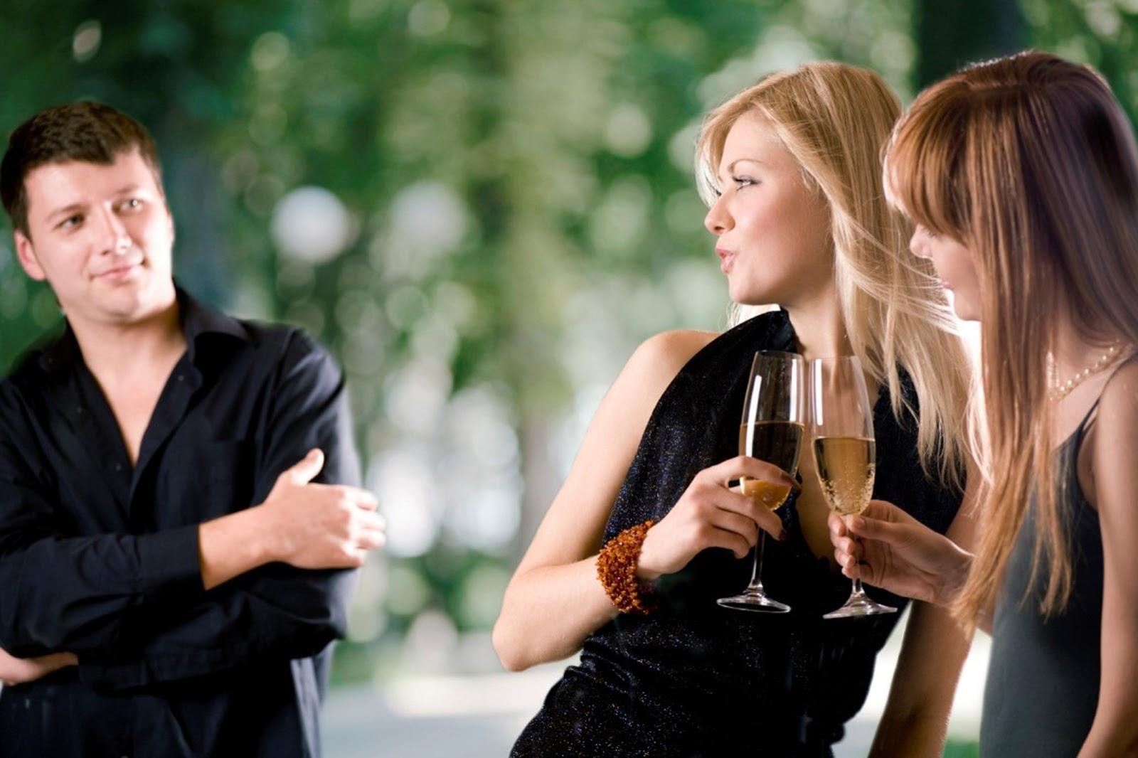 парни боятся отказа знакомства с девушкой